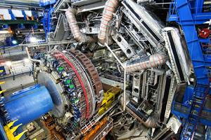 Beginn der Datennahme am Large Hadron Collider
